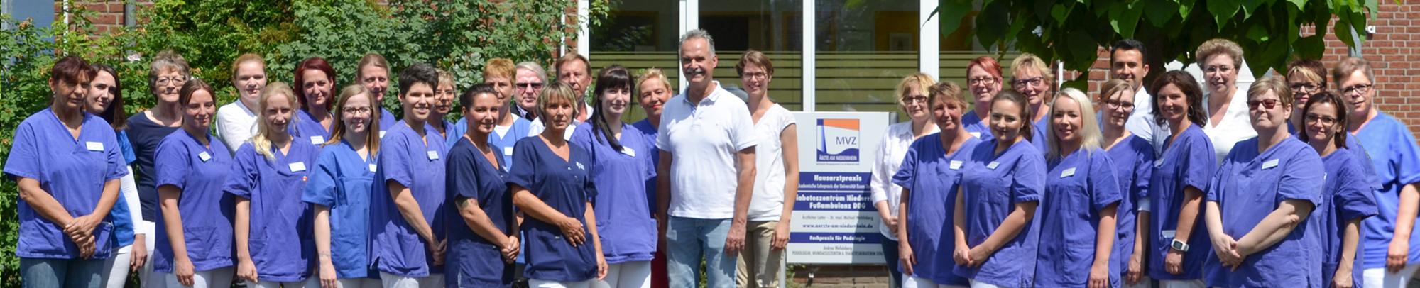 Team MVZ Ärzte am Niederrhein
